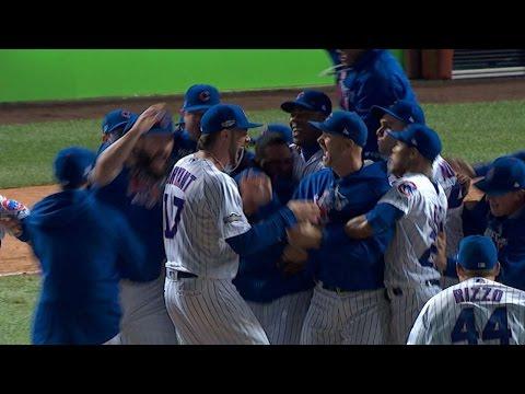 10/22/16: Hendricks dominates, Cubs win pennant