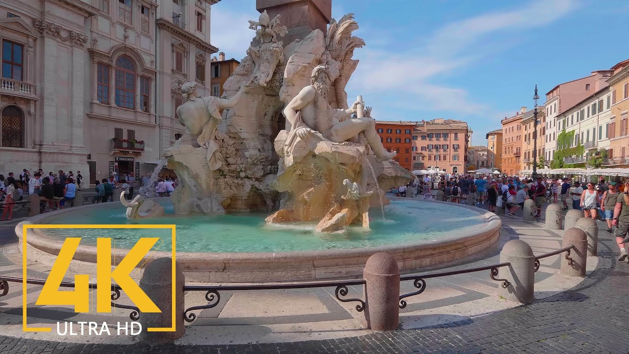 Download Rome, Italy - 4K Virtual Walking Tour around the City - Travel Guide