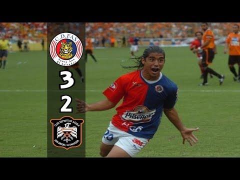 CD FAS [3] vs CD Águila [2] FULL GAME : Final ES Apertura 2009 : 12.20.2009