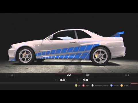 Forza 4 :: 2 Fast 2 Furious - ★Brian O'Connor - Skyline ...