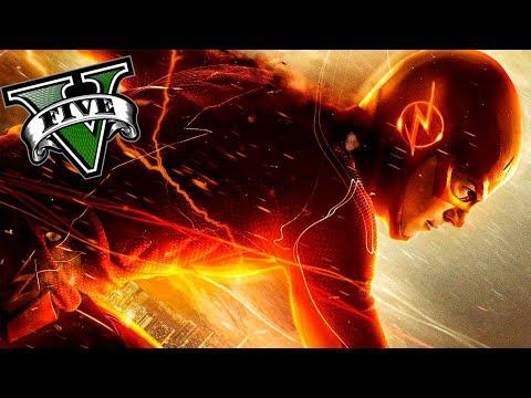 GTA V PC MODS - EL FLASH DEFINITIVO DE LOS SANTOS !! OMG - ElChurches