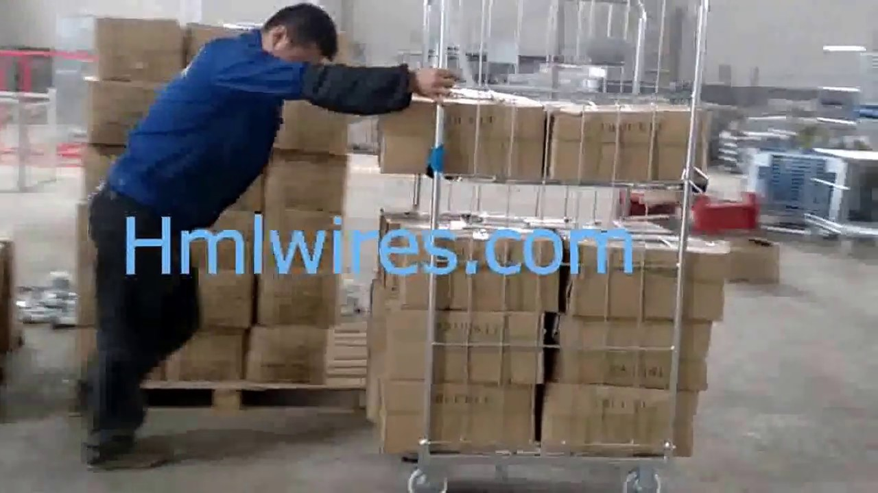 Huameilong-How Warehouse roll cages work