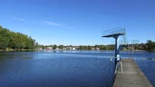 Badplatsen Klint i Strömsnäsbruk - Hammarsjön