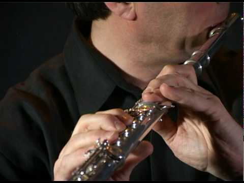 Quartertone flute Glissando / Vierteltonflöte Glissando