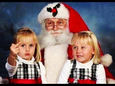 Funny Santa Claus Fails - YouTube