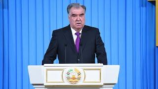 Рахмон обратился к таджикам. Главные темы