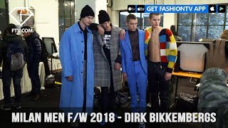 Dirk Bikkembergs Milan Men Fashion Week Fall 2018 Rich and Handsome Collection | FashionTV | FTV