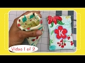 Snap Pouch Tutorial With Machine Embroidery Applique - Video 1 Of 2