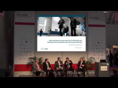 Themenpitch: Rechtssicheres Scannen dank der TR RESISCAN vom Bundesamt für Sicherheit?
