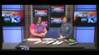 Incense Holder - WLOS Craft Corner - February 27, 2014