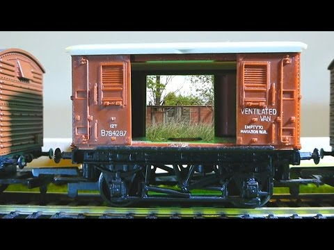 The life and times of a railway box van (model rail and real)