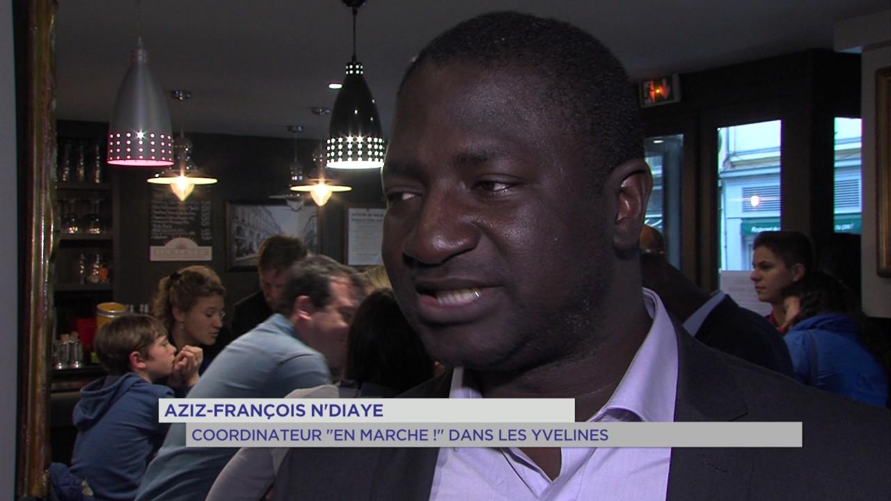 En Marche ! : soirée de fête au QG à Versailles