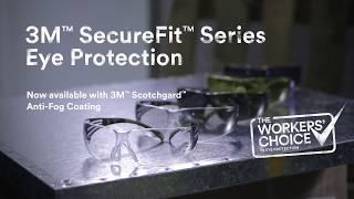 3M™ SecureFit™ Series protective eyewear