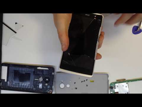 Acer z500 disassembly touch replacement