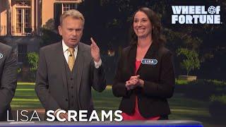 You Scream, Lisa Scream, We All Scream for Wheel | Wheel of Fortune.