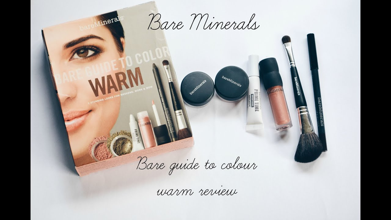 Bare Minerals Guide To Colour Warm Review