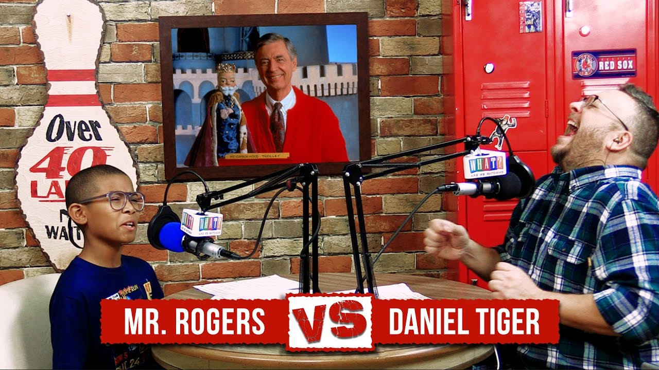 Mr Rogers Vs Daniel Tiger Retro Versus Contemporary Series Youtube