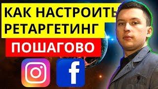 Ретаргетинг реклама инстаграм в фейсбуке. Продвижение в социальных сетях. Лидогенерация и смм.