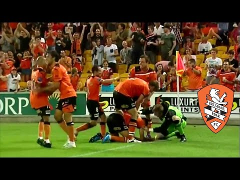 Brisbane Roar FC Great Goals & Moments (Hyundai A-League)