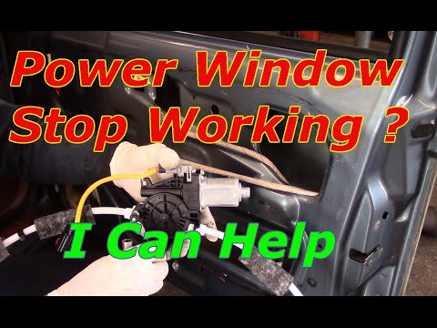 How To Replace A Power Window Motor And Regulator