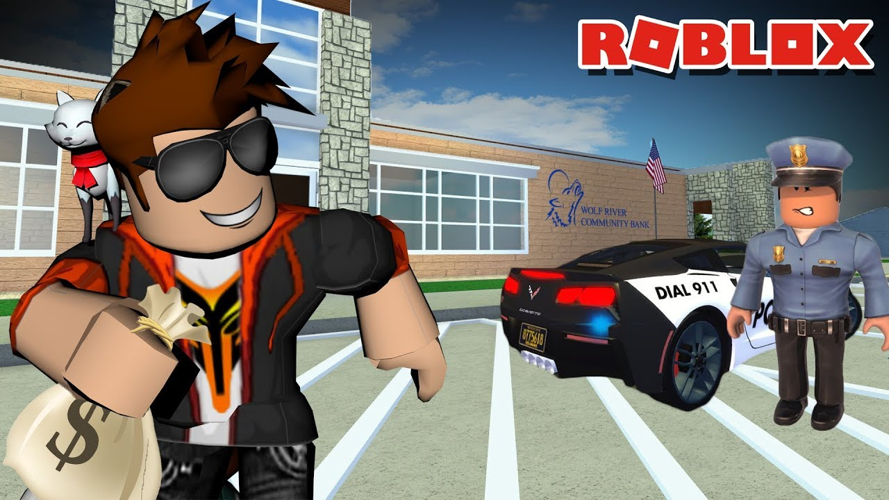 ROBBING A BANK IN GREENVILLE WISCONSIN! -- ROBLOX ROLE PLAY
