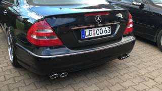 Mercedes E500 W211 BJ03 Sound AMG E63