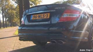 Mercedes C63 AMG Performance Package Plus Videos