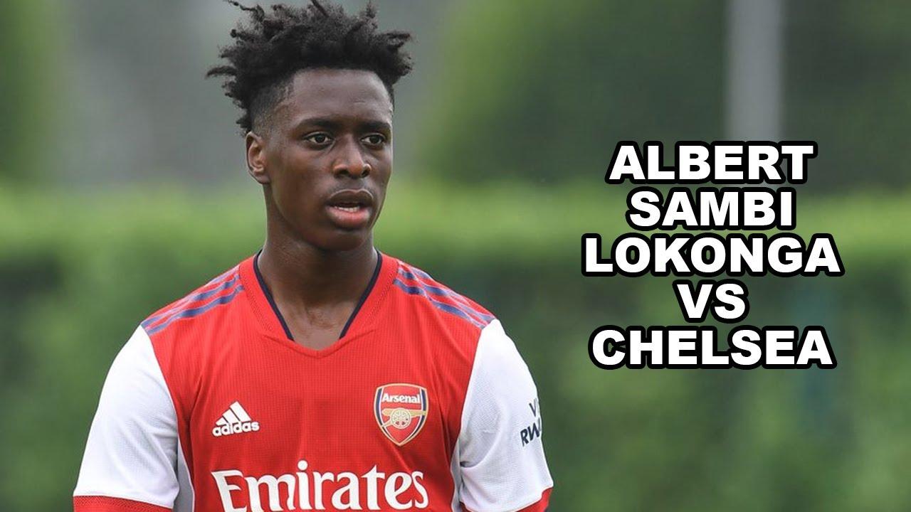Download Albert Sambi Lokonga Solid Performance Vs Chelsea | Arsenal 2021/22 Pre-Season (HD)