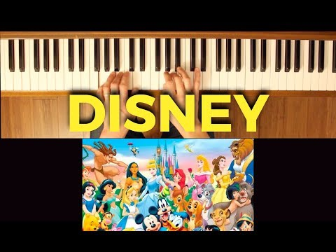 It's Not Easy (Disney) [Easy-Intermediate Piano Tutorial]