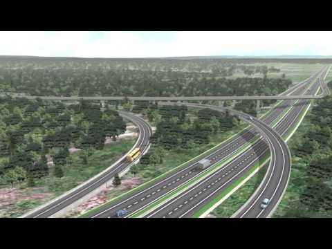Animasi Jalan Tol Balikpapan Samarinda