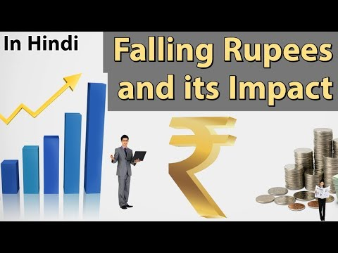 Falling value of Indian Rupee against US Dollar- अर्थव्यवस्था पर इसका असर - Current Affairs 2018