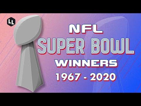 NFL All Super Bowl Winners 1967-2020