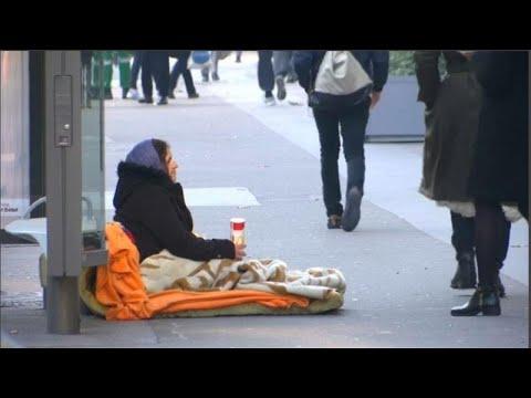 Um em cada cinco europeus em risco de pobreza