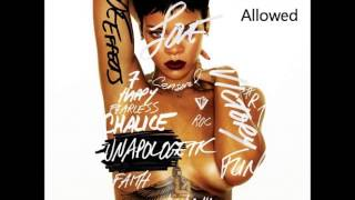 Rihanna No Love Allowed