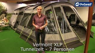 Outwell Vermont XLP Zęlt   Innovative Family Camping