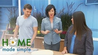 Tree Stumps Become Spectacular Stools | Home Made Simple | Oprah Winfrey Network