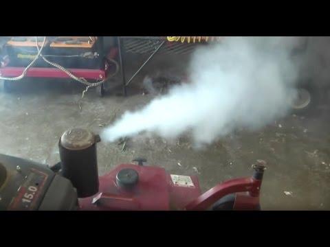 When Diesel is put in a Gas Engine...