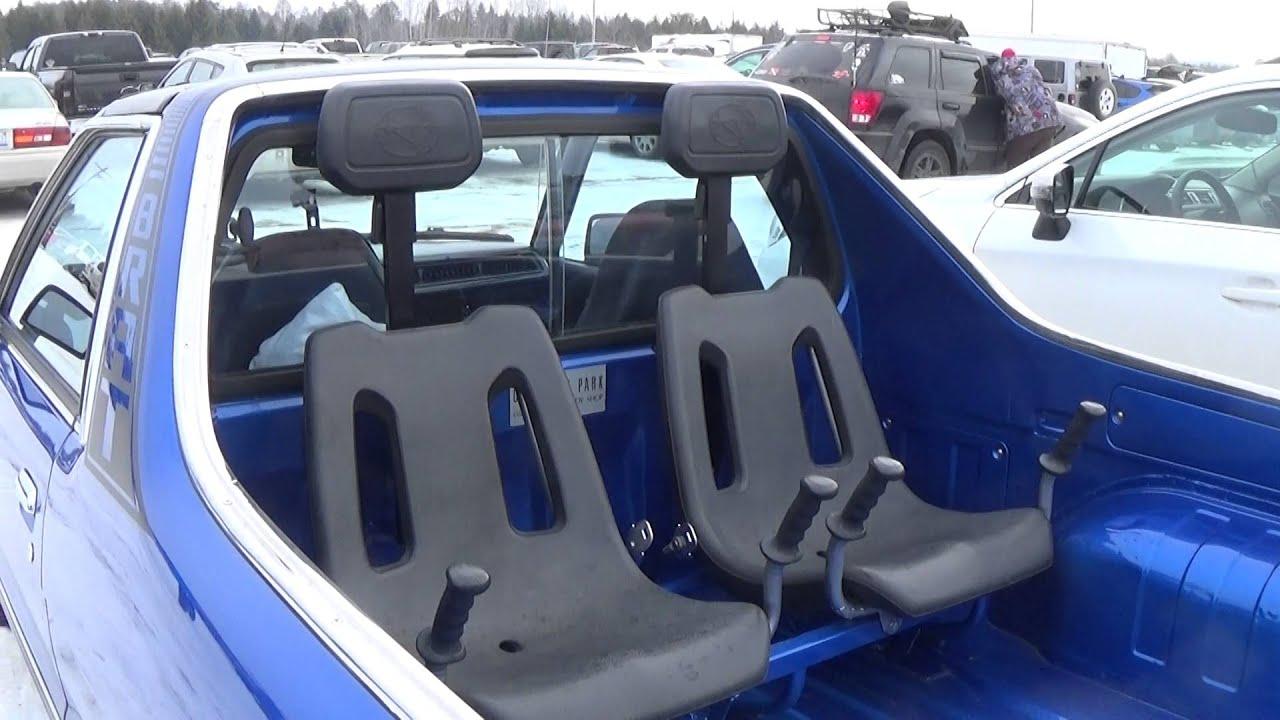 Subaru BRAT This Thing Is Awesome Atlanta Michigan 2016