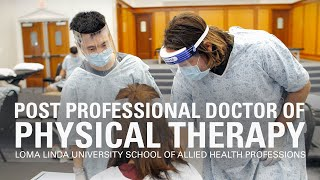 Post Professional Doctor of Physical Therapy program at Loma Linda University
