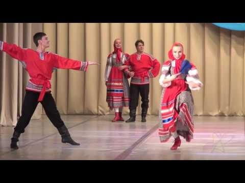 Пляска Архангельской области «Через речку реченьку»