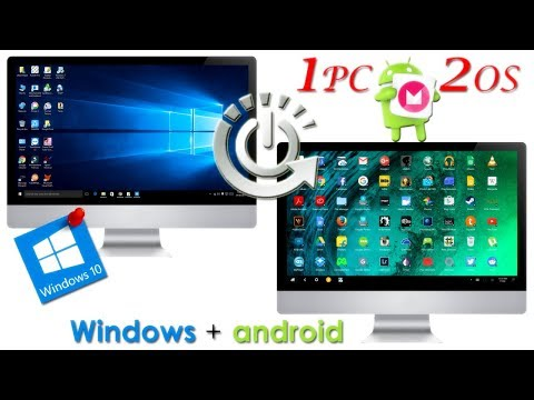 How To Install Android Apps On PC | Dual Boot Windows | Remix OS