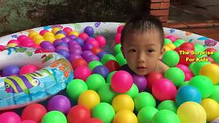 Learn Colors with Baby & Ball Pool