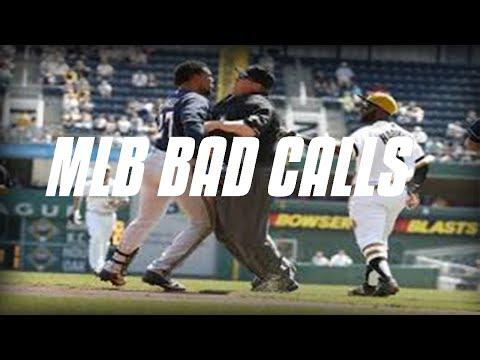 MLB | WORST CALLS AND BAD UMPIRES