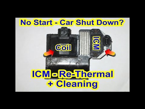 GMC Ignition Coil & Ignition Control Module (ICM) - Re-Thermal + Cleaning - Car / Truck S10 Chevy