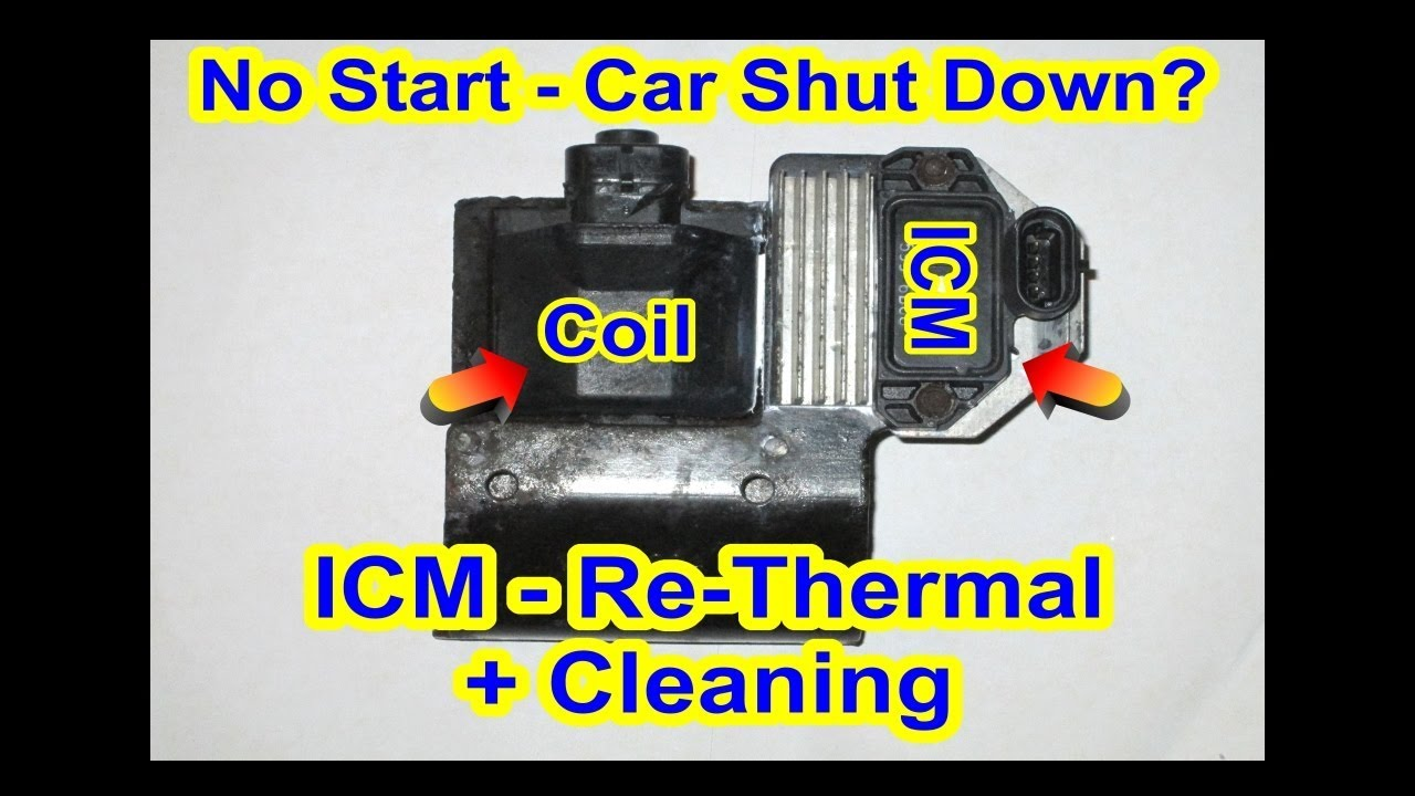 small resolution of gmc ignition coil ignition control module icm re thermal cleaning car truck s10 chevy