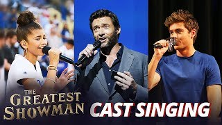 Gambar cover The Greatest Showman Cast REAL Singing Voice