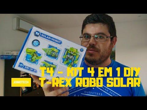Robo Solar T-REX DIY