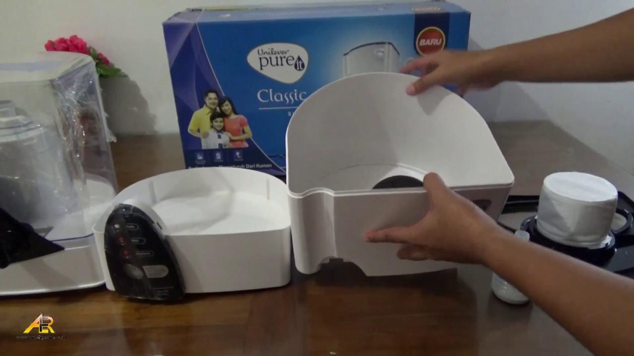 Pemasangan Pureit Water Purifier Classic Produk Unilever Youtube 9l