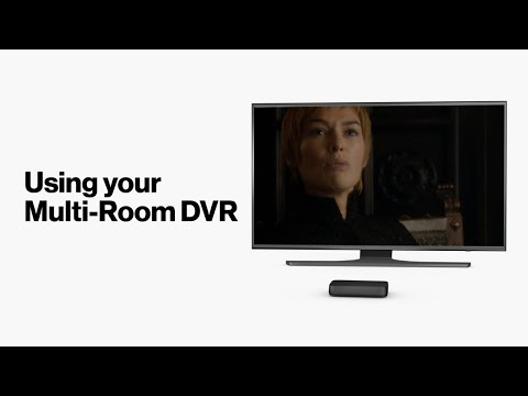Fios TV One: How To Use Multi-Room DVR Service