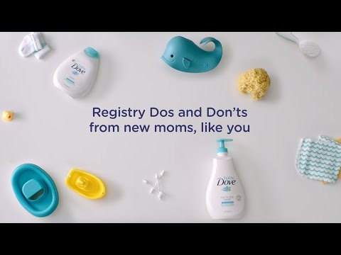 Bath time registry essentials | Baby Dove